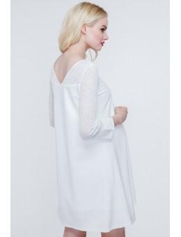 Платье для беременных белое
