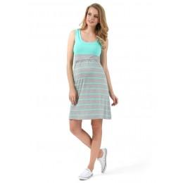 """Платье """"Триколор"""" для беременных и кормящих"""