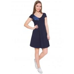 """Платье """"Вербена"""" для беременных; цвет: т.синий"""