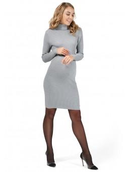 """Платье """"С-04"""" для беременных серый"""
