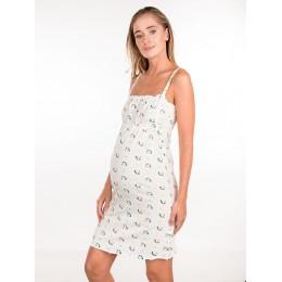 Сорочка хлопок на резиночке для беременных и кормящих
