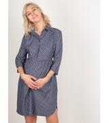 Платье - рубашка для беременных и кормящих