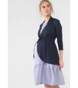 Кардиган для беременных КВ02 т.синий