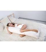 Подушка для беременных и кормящих мам Валик-МАХ +трикотажная наволочка
